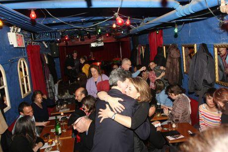 Peri Smilow and Budd Mishkin at The Cornelia Street Cafe, JewFest 2012