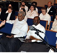 Peri Smilow photo Temple Shalom Aberdeen NJ Freedom Music Project