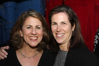 Peri Smilow and Laura Siegel Peri Smilow039s business manager